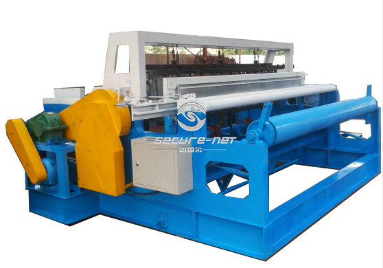 Full automatic barbecue net weaving machine